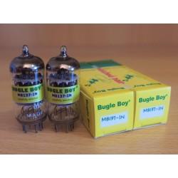 Bugle Boy M8137 (Mullard ECC83), valvole elettroniche selezionate in COPPIA, made in India