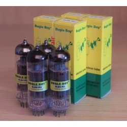 Bugle Boy EL84-RU-Q, selected amp tubes matched in QUAD, made in Russia