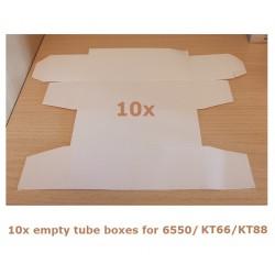 10x Scatola bianca per valvole tipo KT88/6550