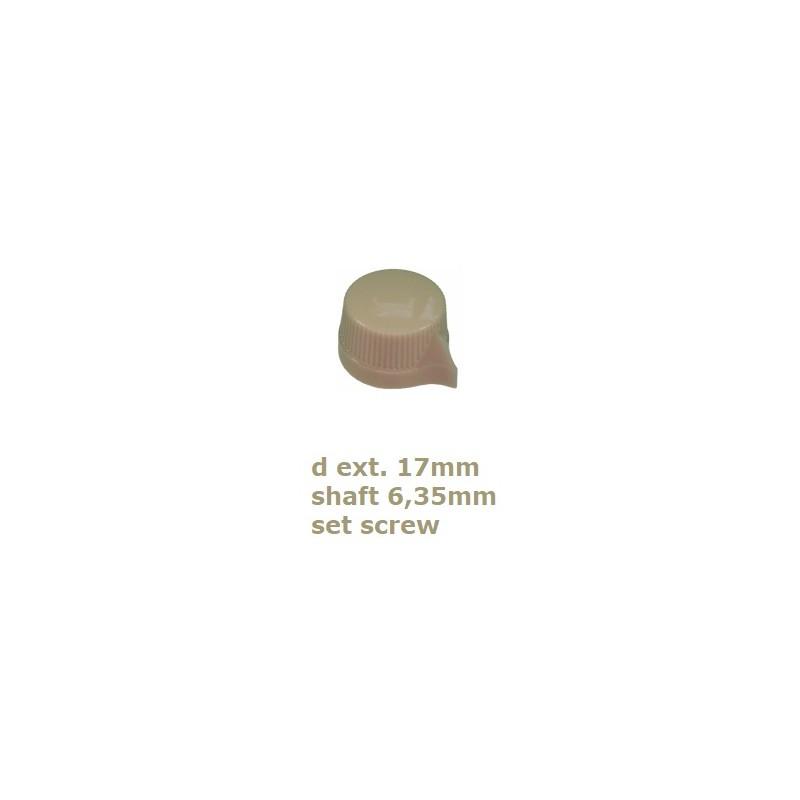 fissaggio a vite Davies Molding 1470AQ knob manopola NERA in bakelite