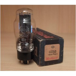 Mullard GZ32, valvola elettronica made in UK