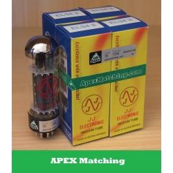 JJ Electronic EL34-II APEX valvole selezionate in QUARTETTO