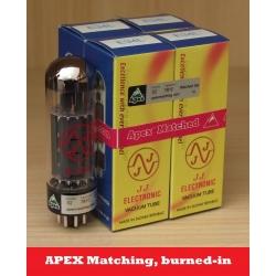 JJ Electronic E34L APEX BURNED-IN valvole selezionate in QUARTETTO