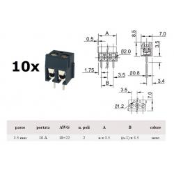 Morsettiera x PCB a due