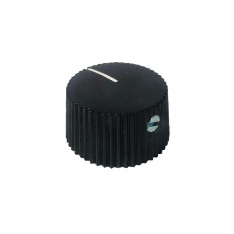 Fender style ''Barrel'' black knob