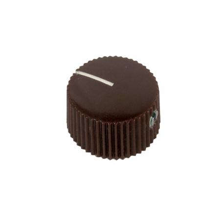 Fender style ''Barrel'' brown knob