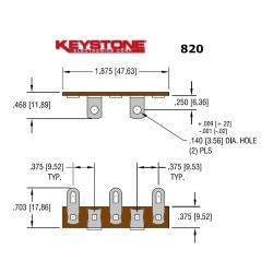 Keystone 820