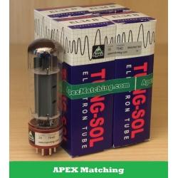 Tungsol EL34B APEX valvole selezionate in QUARTETTO