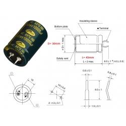Samwha HC50 10000uF/50V