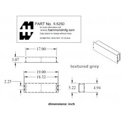Hammond 5-525DGY2