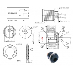 SC Precision SCD523DCS100B00G