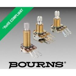 Bourns 17, 250KA MONO 3/8' potenz.LOG perno zigrinato PDB181-GTR01-254A2
