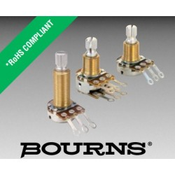Bourns 17, 250KB MONO 3/8' potenz.LIN perno zigrinato PDB181-GTR01-254B0
