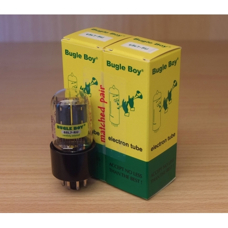 Bugle Boy 6SL7-RU (6h9c)