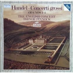George Frideric Handel: Concerti Grossi, Op. 6, 1-4