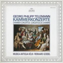 Georg Philipp Telemann, Kammerkonzerte