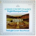 Trevor Pinnock: A Grand Concert Of Musick (English Baroque Concerti), The English Concert, Archiv, LP