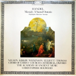 Handel: Messiah, A Sacred Oratorio