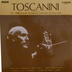 Toscanini: Brahms, Rossini, Mozart, Mendelssohn
