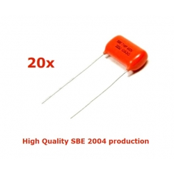 20x Orange Drop 716, 0,1uF/600V (SBE 2004), condensatore polipropilene