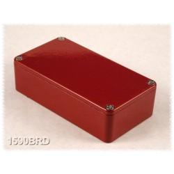 Hammond 1590BRD, contenitore alluminio pressofuso ROSSO