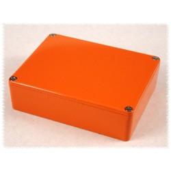 Hammond 1590BBOR, contenitore alluminio ARANCIONE finitura lucida