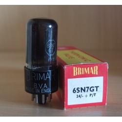 Brimar UK 6SN7GT