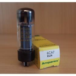 Amperex UK EL34, valvola elettronica usata XF2, OO getter