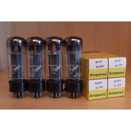 Amperex Bugle Boy UK EL34