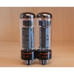 Amperex UK EL34, coppia di valvole elettroniche XF4