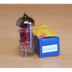JJ Electronic ECC83MG MEDIUM GAIN (12AX7), valvola elettronica selezionata