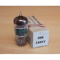 JAN General Electric 12AY7