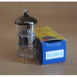 JJ Electronic ECC83-S GOLD (12AX7), valvola elettronica selezionata