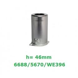 Schermo in alluminio h: 46mm
