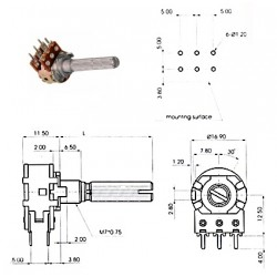 ECC 16mm 250KAx2