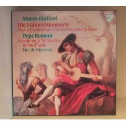 Mauro Giuliani: Die 3 Gitarrenkonzerte