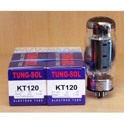 Tung-sol KT120, valvole selezionate in COPPIA