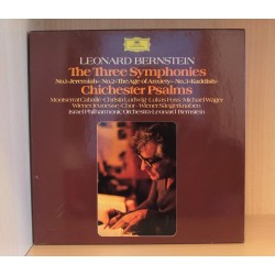 Leonard Bernstein: The Three Symphonies