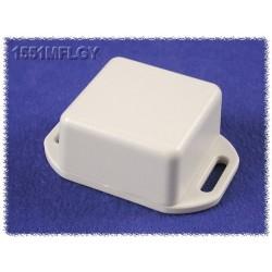 Hammond 1551MFLGY, contenitore GRIGIO miniatura in ABS, flangiato, IP54