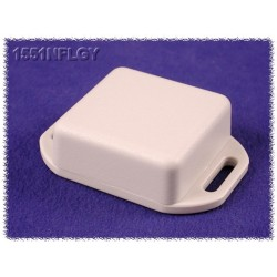 Hammond 1551NFLGY, contenitore GRIGIO miniatura in ABS, flangiato, IP54