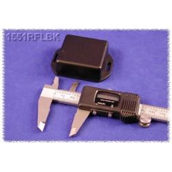 Hammond 1551RFLBK, contenitore NERO miniatura in ABS, flangiato, IP54