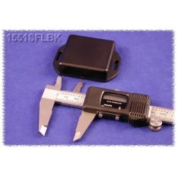 Hammond 1551SFLBK, contenitore NERO miniatura in ABS, flangiato, IP54