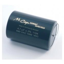 Mundorf MCAP SUPREME Silver/Gold 0.1uF 1000V
