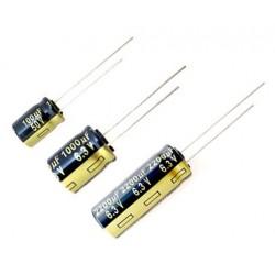 Panasonic FM 47uF 25V, condensatore elettrolitico radiale, EEU-FM1E470