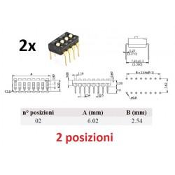 Dip Switch 2 posizioni