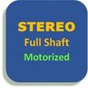 Stereo, motorizzato