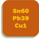 Sn60 Pb39 Cu1