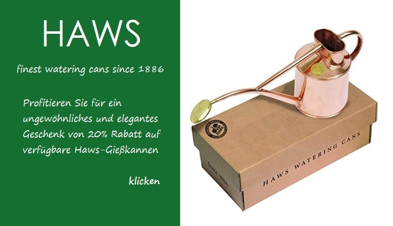 20% OFF on Haws watering cans