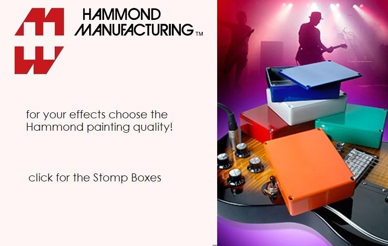 Hammond Stomp Boxes